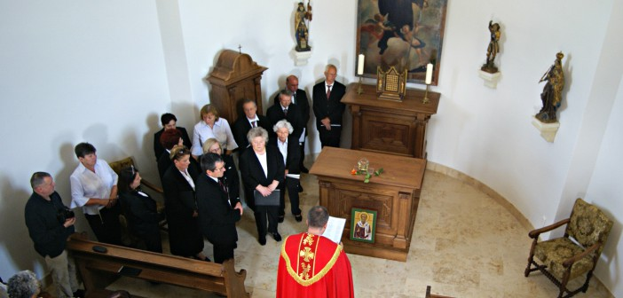 SAINT URBAN'S RELIC COMES TO RENEWED TERÉZIA CHAPEL